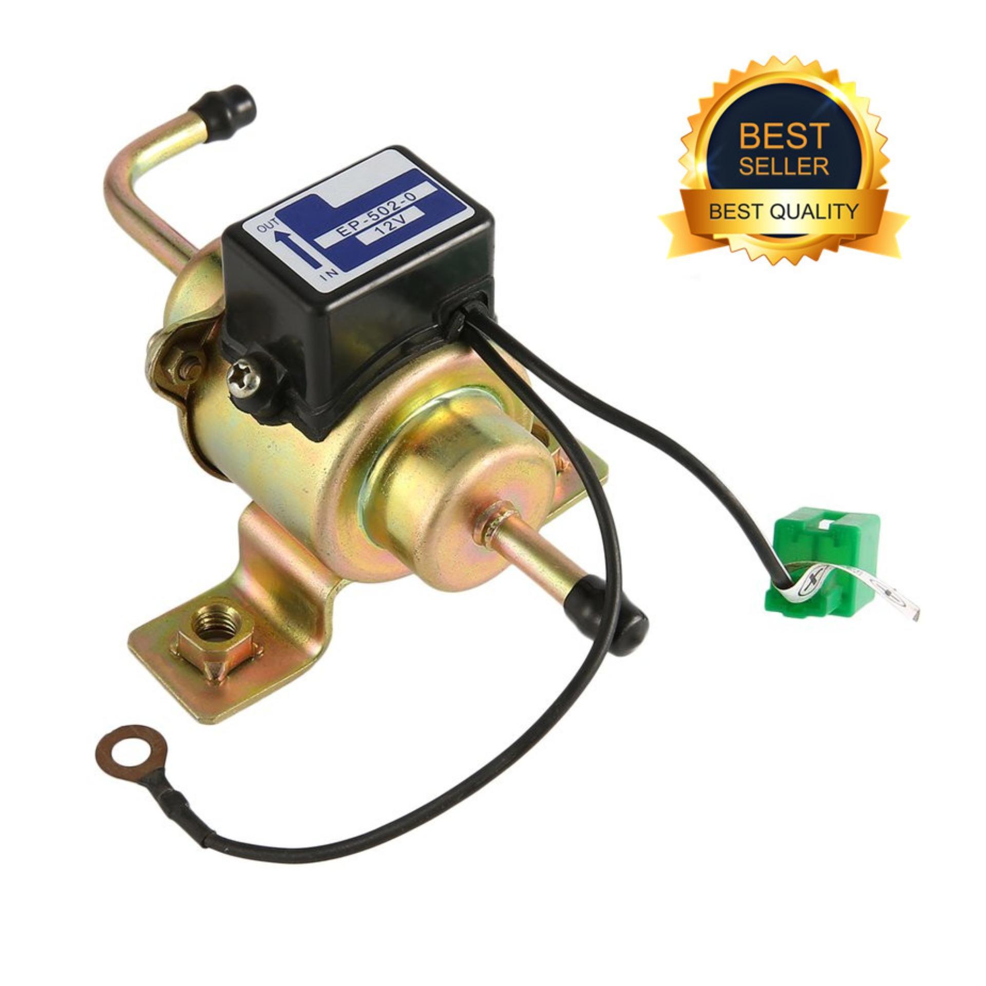 LIFEF 12V Auto Car Gas Electric Fuel Pump 5PSI External Electronic Pump
