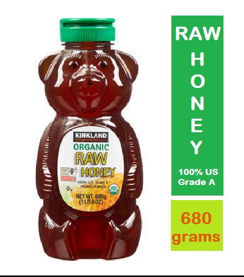 Kirkland Signature Organic Raw Honey 1lbs Or 680grams- (usa Imported, Guaranteed Authentic) By Avahfrancia.