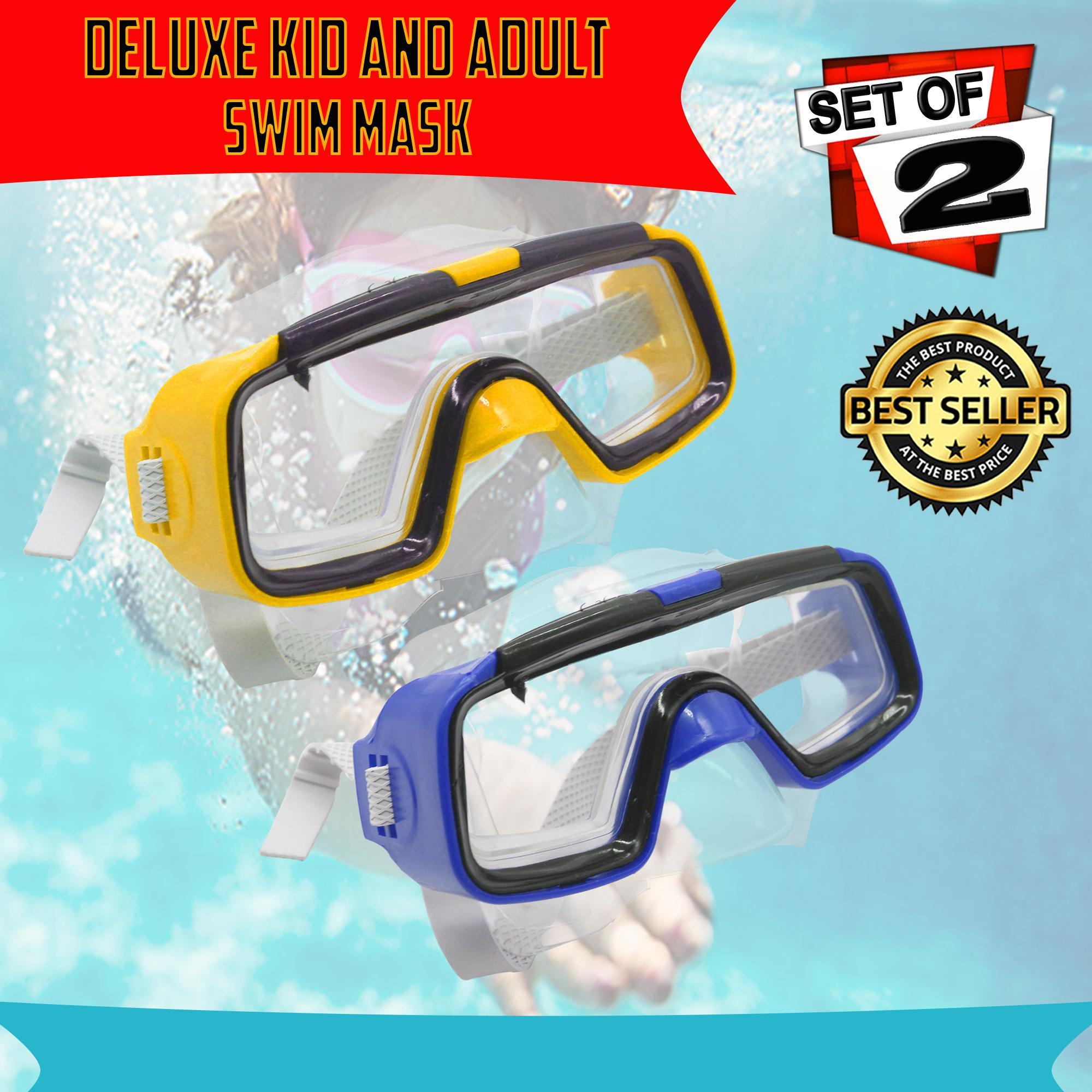 1ea43a39c2b Swimming Goggle Mask Waterproof Anti Fog Anti UV Soft Framework Swim Glasses  for kids and Adult