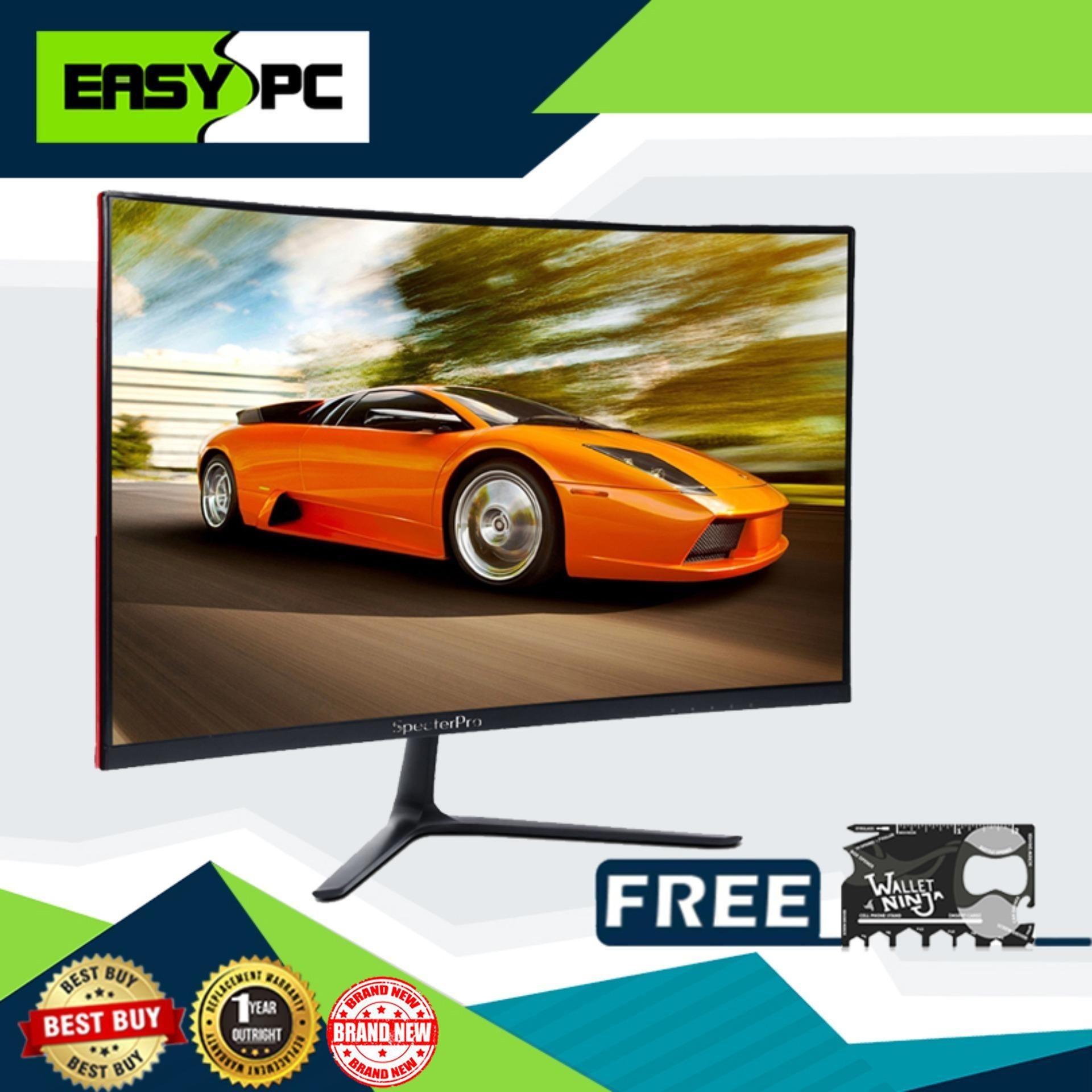 SpecterPro XT27NS 27 144hz Curved Monitor with TACTICARD, Specter Pro Eco-friendly, Low Power Consumption.4ms Response Time , AMD Freesync Monitor, gaming Curve Monitor, Full High Definition resolution with In-Plane Switch