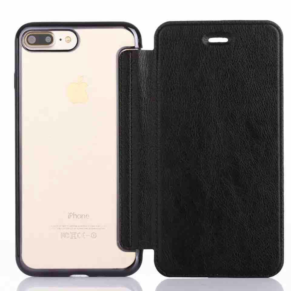 Huawei Y6(2018) Slim Soft TPU Back Case With Flip Cover