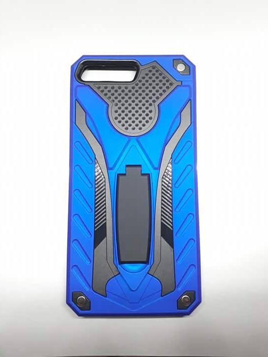 more photos 806c4 734f8 Huawei Y6 2018 Robot Armor Case with Stand Shockproof Case