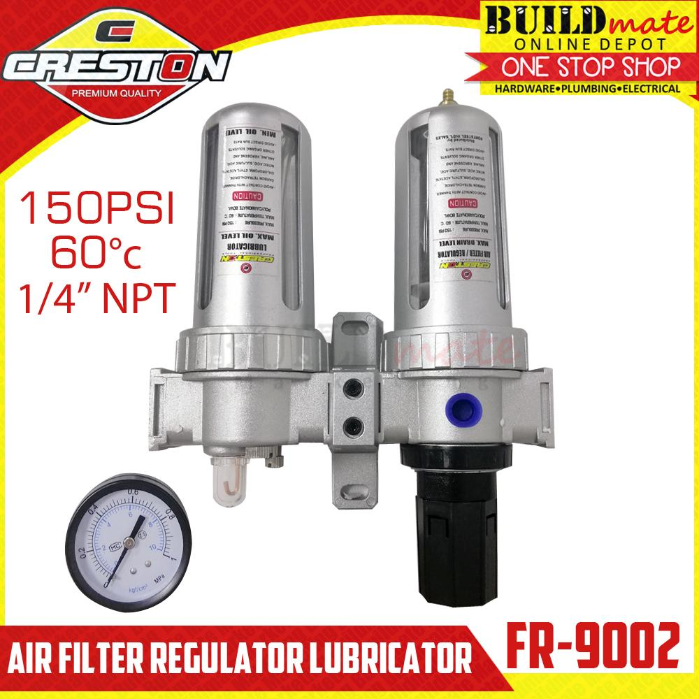 NPT 1//4 In Filter//Regulator//Lubricator