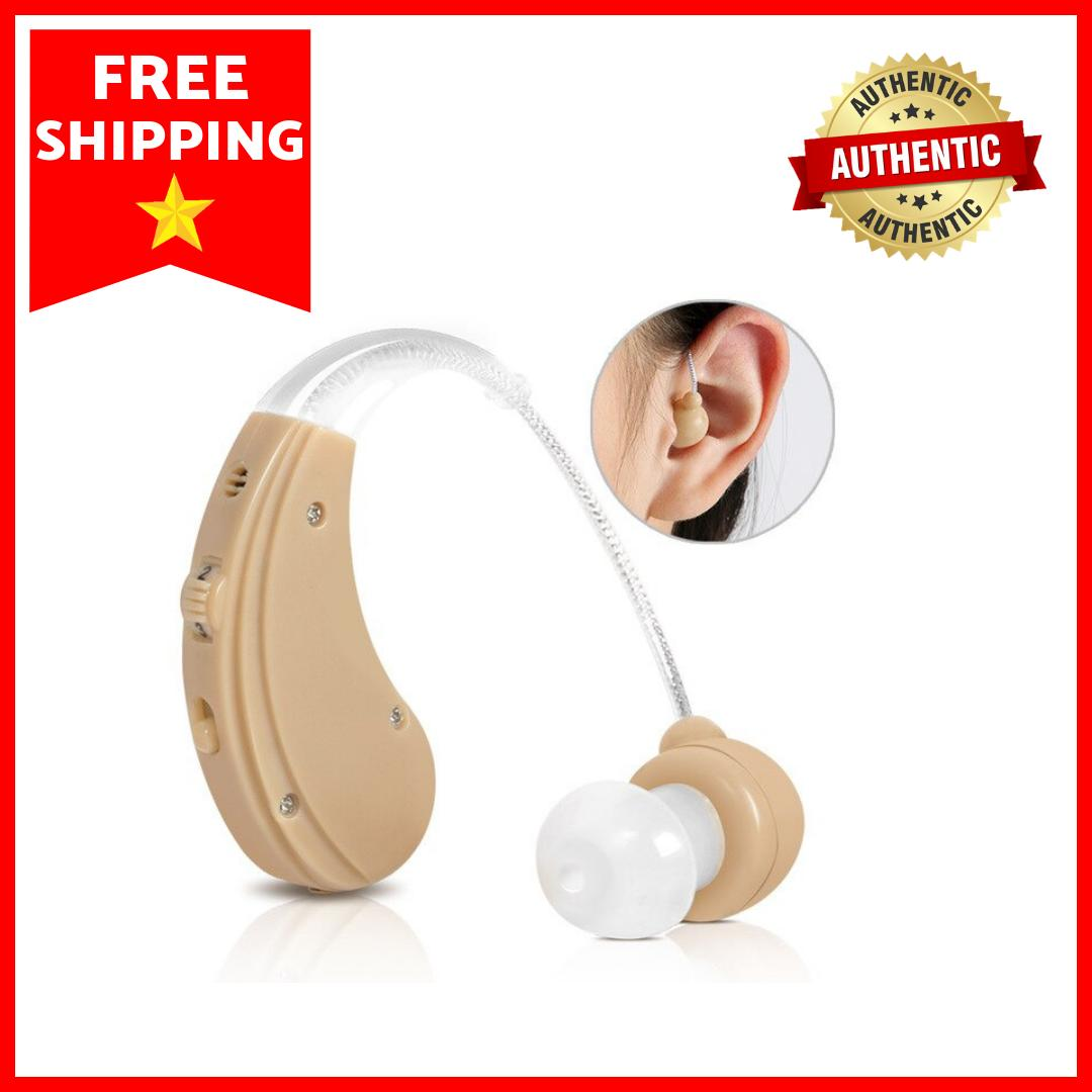 Best Hearing Aid USB Rechargeable Adjustable Sound Voice Amplier Authentic (suit for both ear) image on snachetto.com