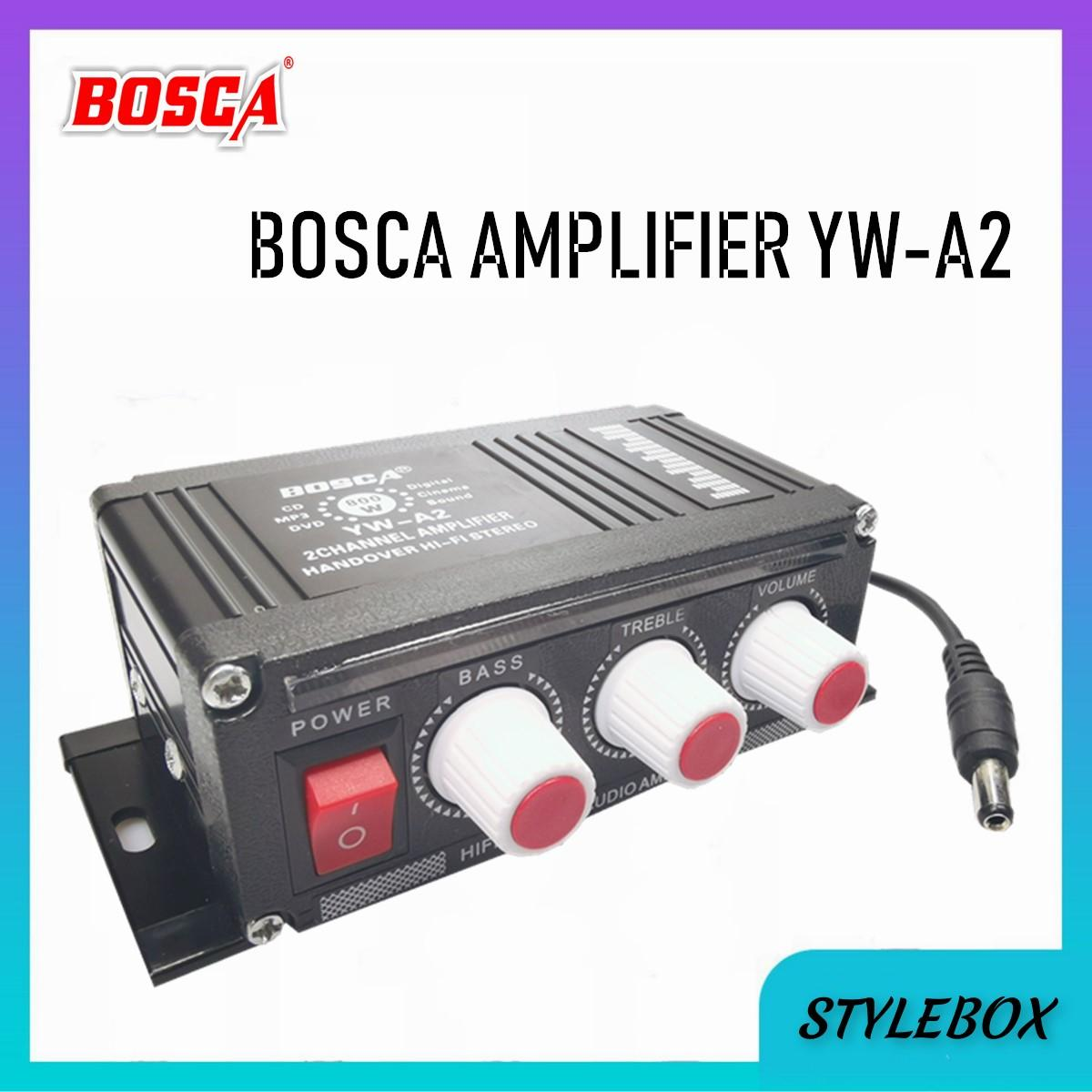 Bosca YW-A2 Motorcycles Mini Amplifier (Black)
