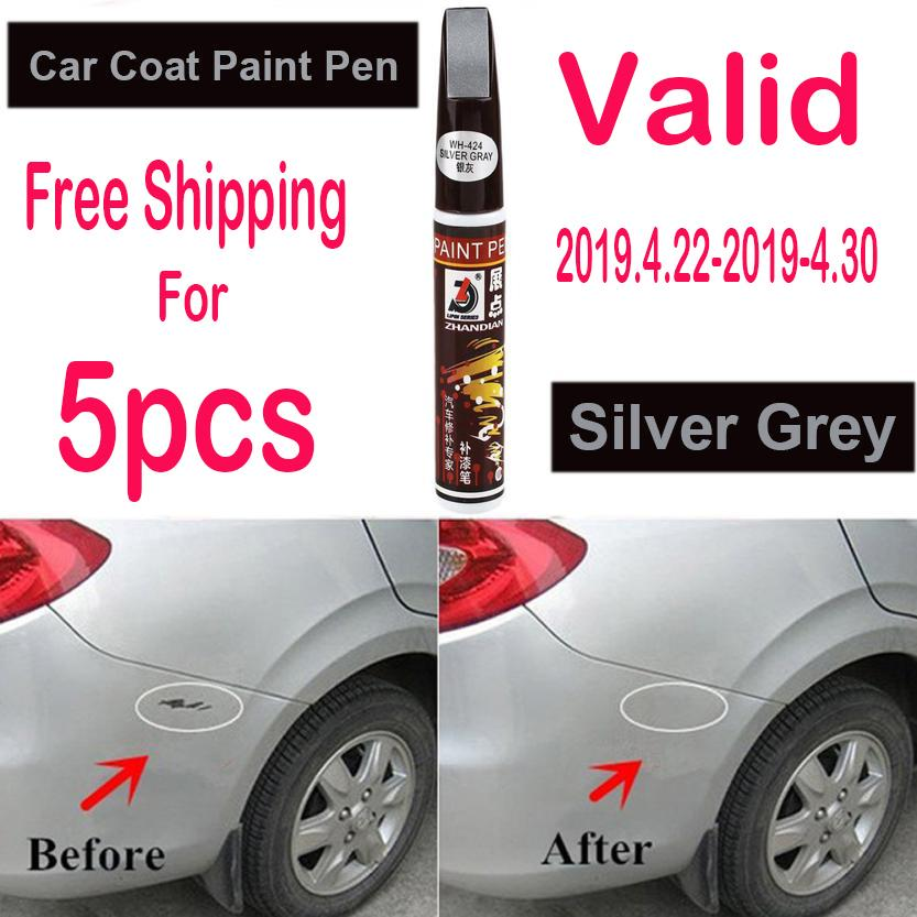 Auto Car Coat Paint Pen Touch Up Scratch Clear Repair Remover Remove Tool Car Scratch Repair Pen (silver Grey) By Powerful-Enterprise.