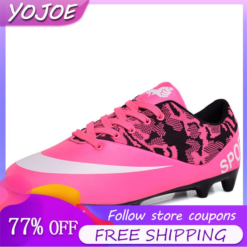 Shoes For Children Men Women Fashion Breathable Soccer Shoes Non slip Outdoor Sports Shoes Casual Walking Shoes Running Shoes Sneakers