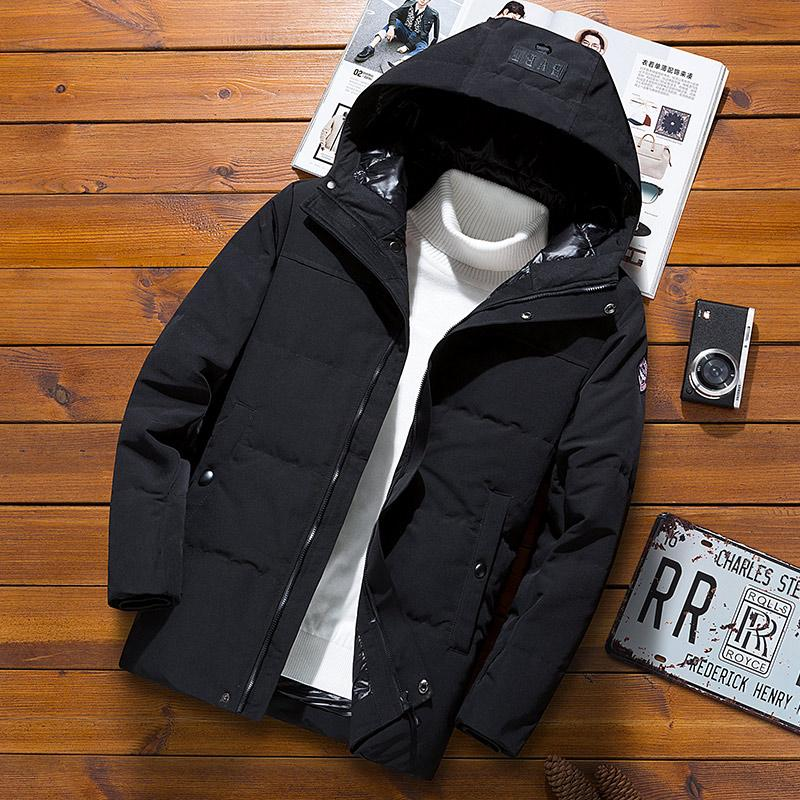 7fcb00e21531 Men Camouflage down Jacket 2018 New Style Korean Style Popular Brand  WorkWear Thick Hooded Autumn
