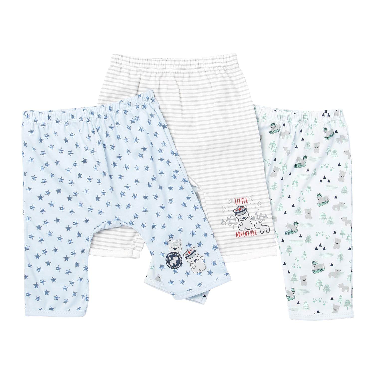 Hush Hush Baby Boys Bear Drop-Crotch Pajama Set By The Sm Store