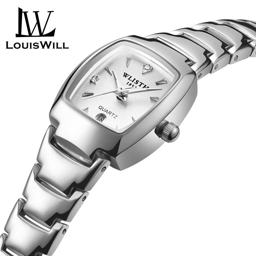 LouisWill Women Fashion Watch Sports Quartz Women Watches 30M Waterproof Women Wristwatches Business Stainless Steel Band Watches Female Casual Watches with Free Band Remover Malaysia