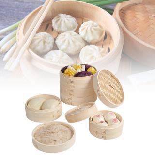 Vỏ Bánh Bao Dimsum, Bộ Nồi Rổ Dụng Cụ Nhà Bếp Bằng Tre, Lồng Hấp Bằng Tre Cakeware thumbnail