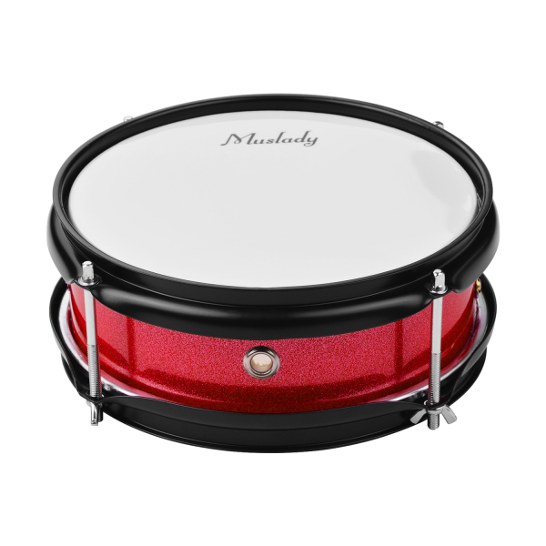 Muslady 8inch Snare Drum Head with Drumsticks Shoulder Strap Drum Key for Student Band Malaysia