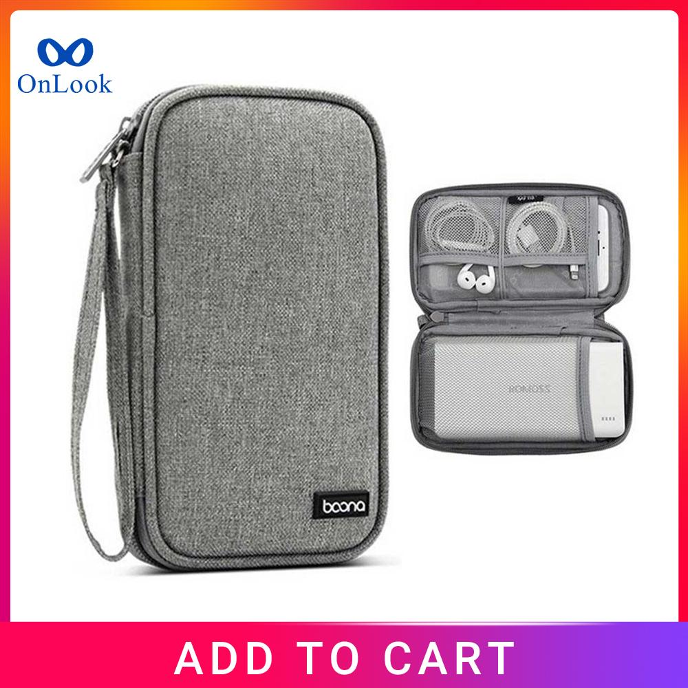 Bright 3.5 Inch Eva Shockproof Hard Drive Carrying Case Pouch Bag 3.5 External Hdd Power Bank Cable Hand Carry Travel Case Protect Bag Hard Drive Bags & Cases