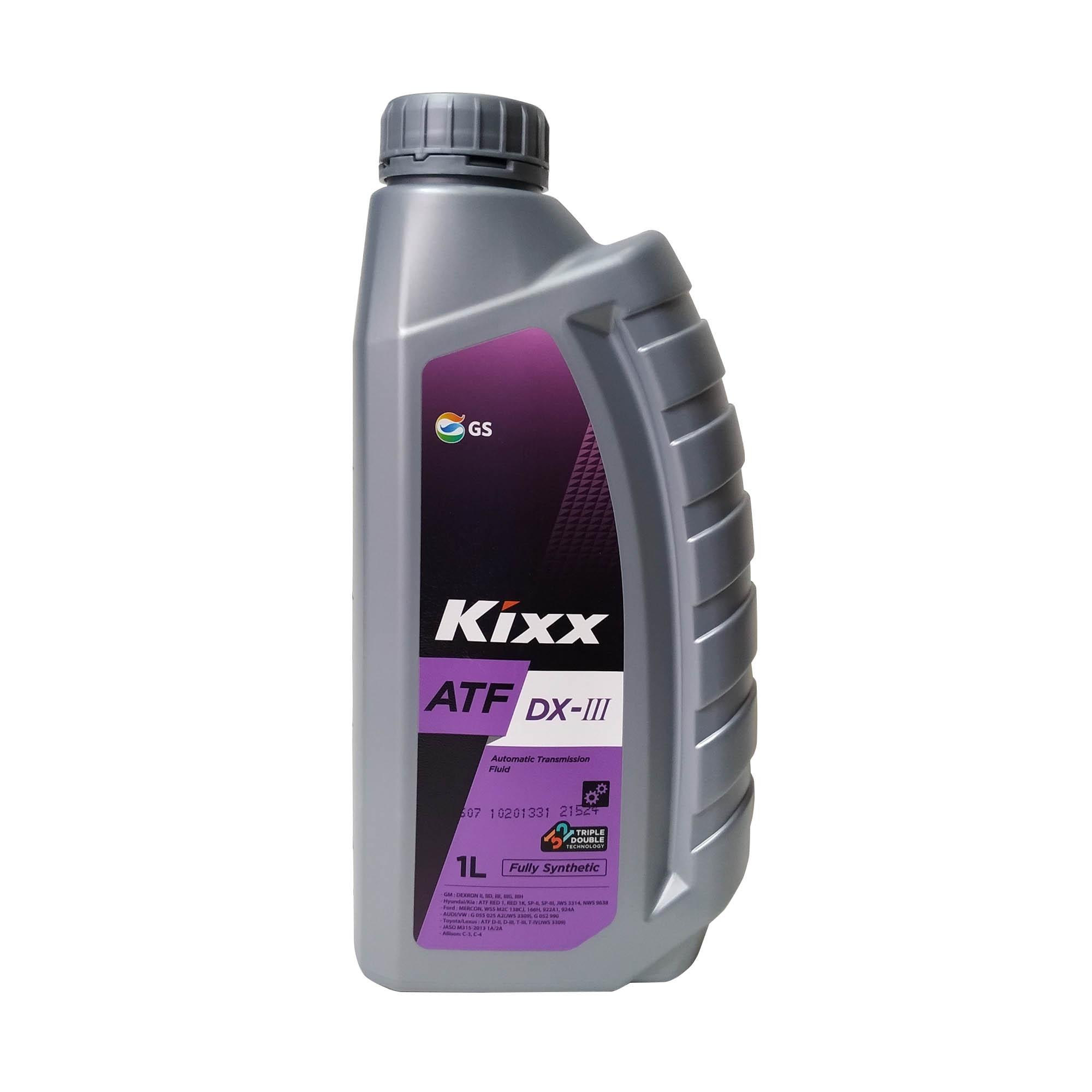 KIXX ATF DX-III Fully Synthetic Automatic Transmission Fluid / Power  steering Fluid 1L ( 1 Liter )
