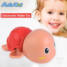 HelloKimi 3 Đồ chơi nhà tắm Rùa con biết bơi Đồ chơi bồn tắm đồ chơi lên dây cót đồ chơi cho bé đồ chơi trẻ em
