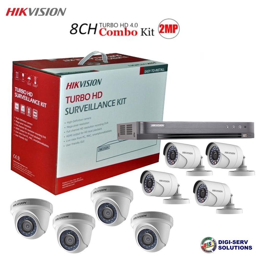 87220a658 Hikvision TVI-8CH4D4B-2MP 1080P 8CH HDTVI Combo (DS-7208HQHI-K1