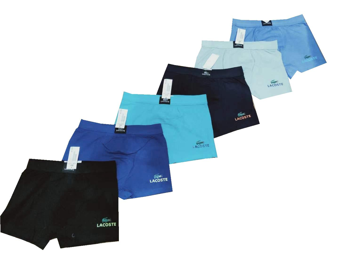 Mens Cotton Boxer Briefs Simple Lacoste 12pcs By Yy Store.