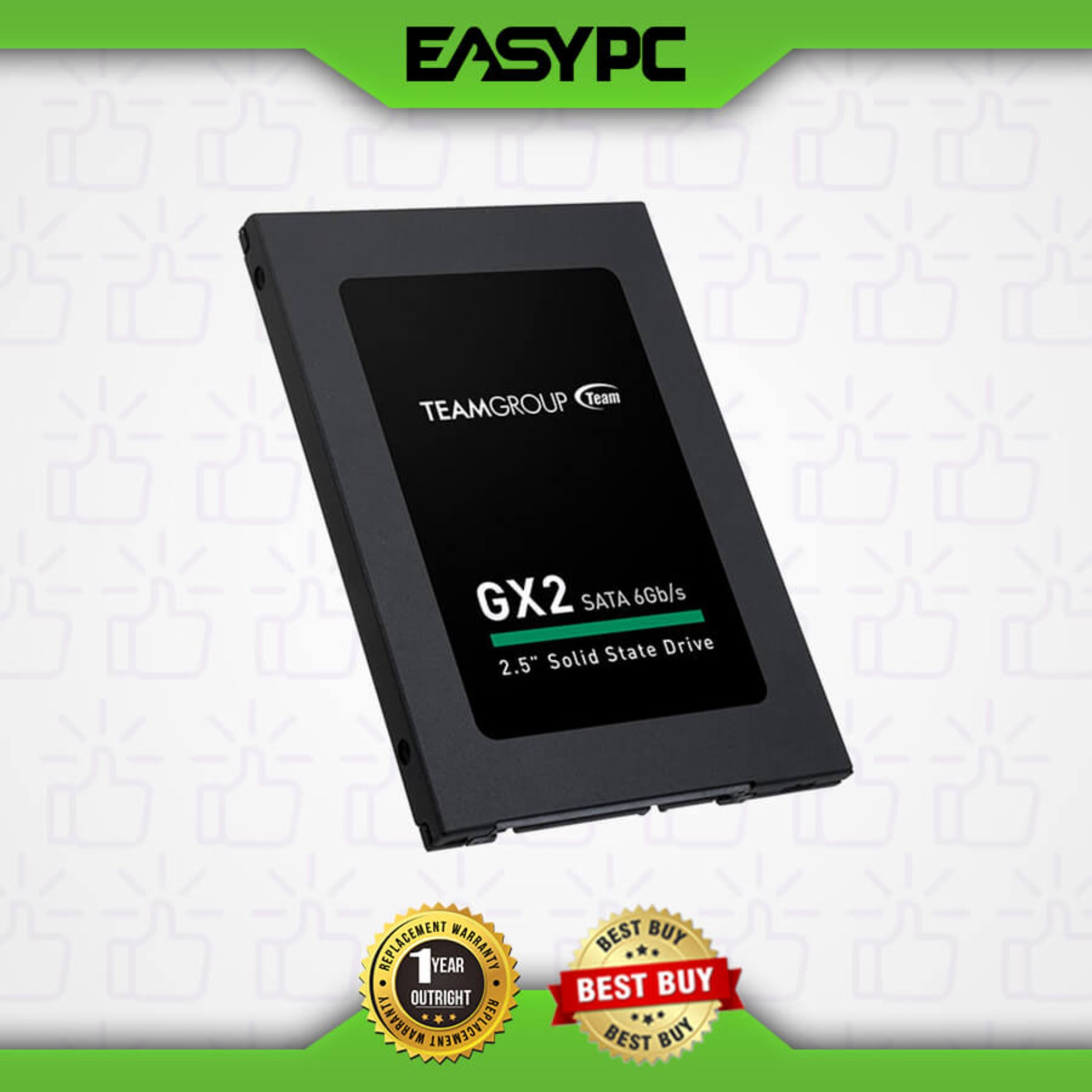 Team Elite GX2 512GB Sata III 2.5 Solid State Drive. Team Elite GX2 512GB 2.5 SSD Internal Storage Device for Laptop, Notebook and Desktop, for Faster Booting and File Transferring, Windows 10 Compatible , Light weight and Affordable SSD, Easy to Use