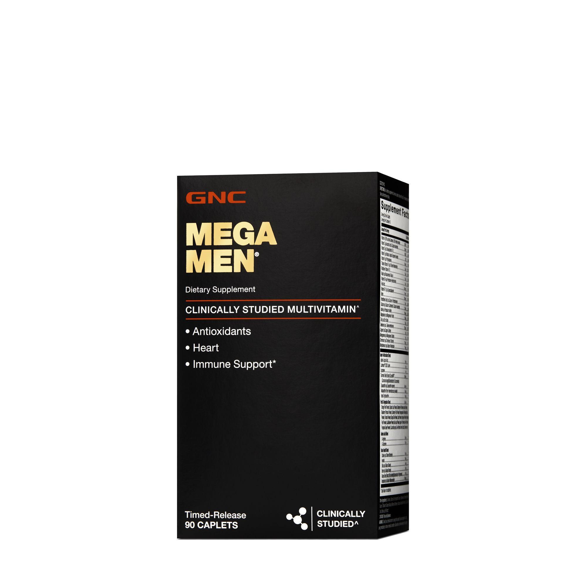 Gnc Mega Men With Vit K Timed Release