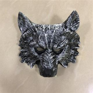 1 1 Cosplay Bạc Wolf Fierce Beast Mặt Nạ Răng Movie Game Anime Vũ Khí Prop Vai Trò Chơi PU Hành Động Hình Quà Tặng Halloween thumbnail