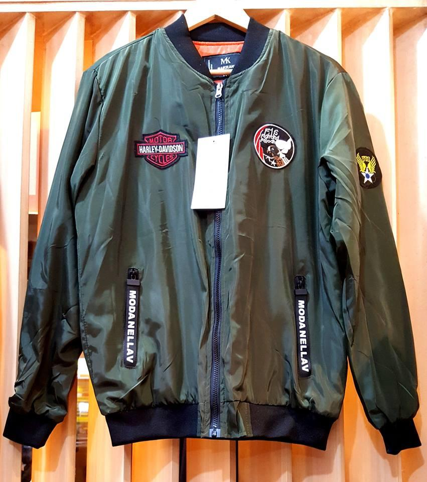 abae7b0a35b Flight Bomber Jacket for Men Army Windbreaker Air Force Flying Autumn New  Pilot Korean Teenager Fashion