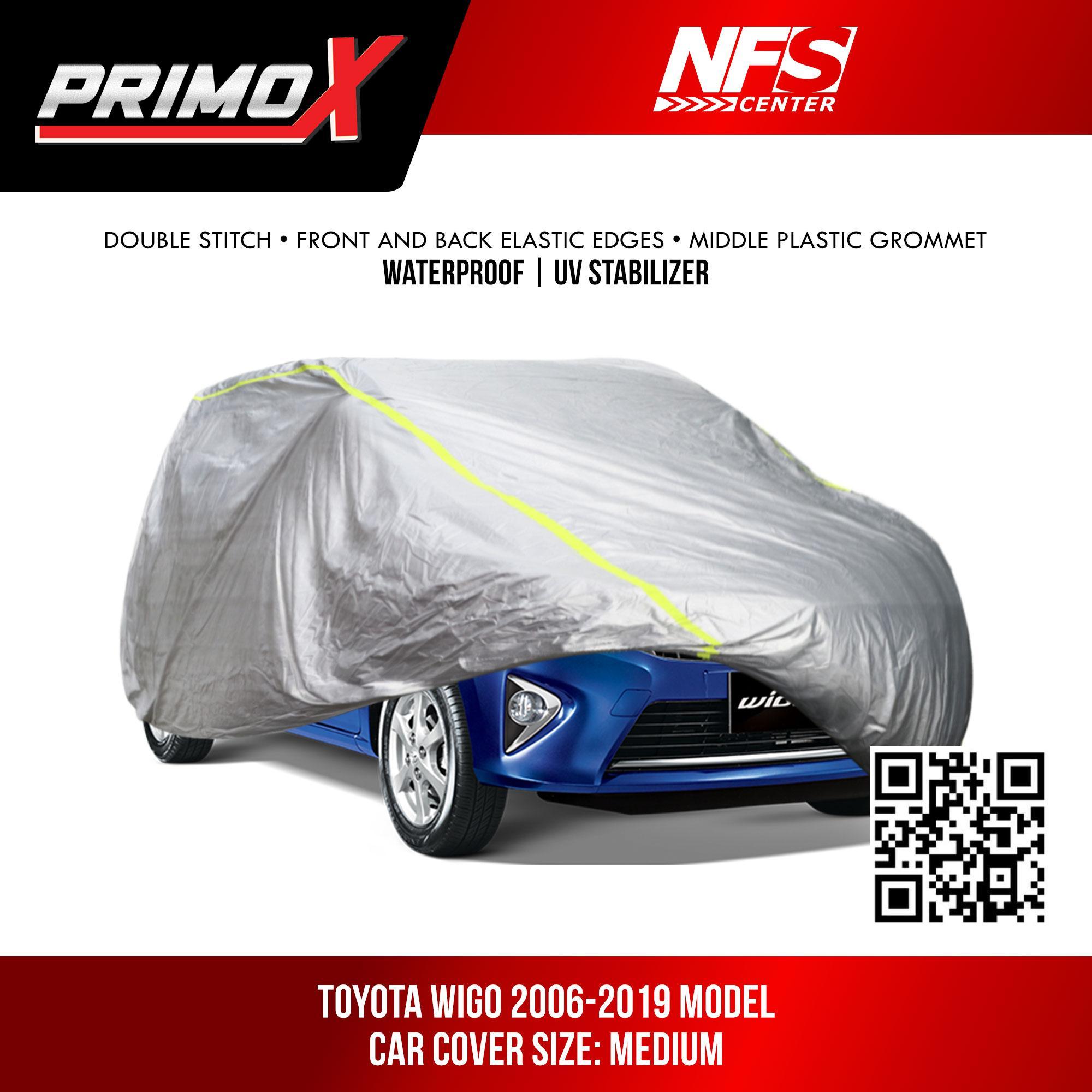 Waterproof Aluminum Car Cover for Toyota Wigo