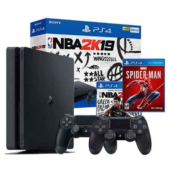 Playstation 4 Slim 500gb Nba 2k19 Bundle - W Extra Dc4 Controller By Game One Ph.