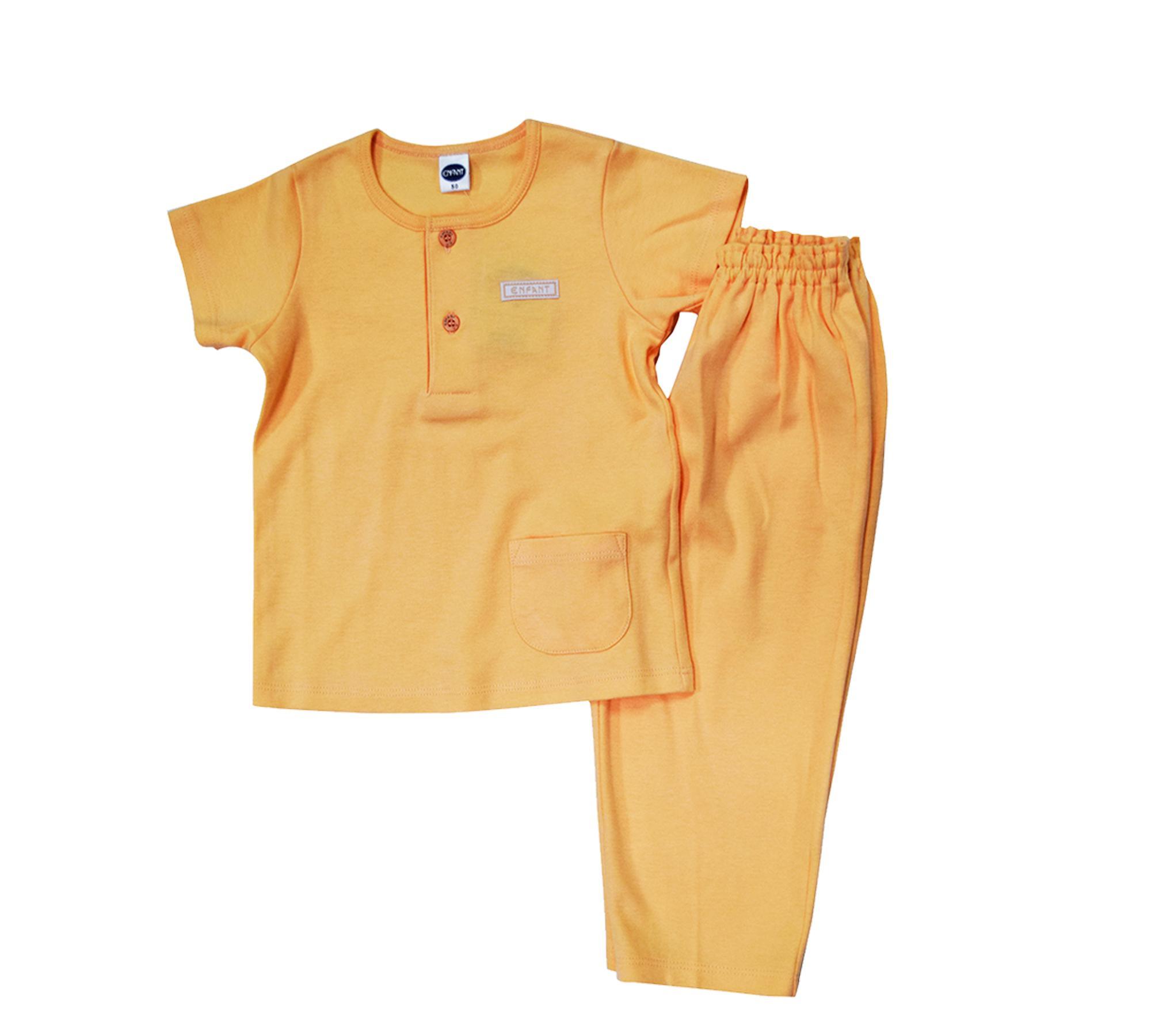 Enfant Baby Boy Pajama Set Short Sleeves 18-24 Months By Enfant Specialty Shop.