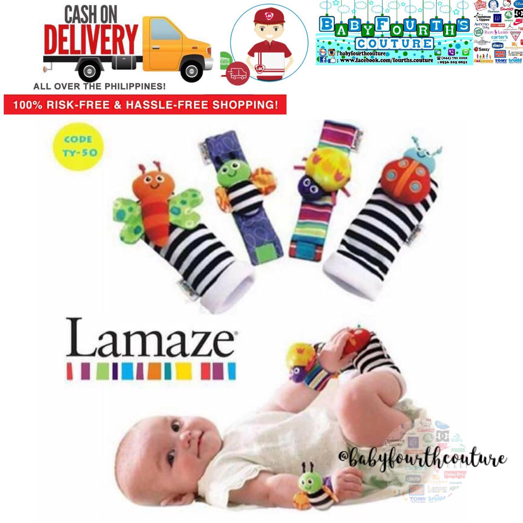 Lamaze Baby Wrist Rattles and Foot FInder Set  sc 1 st  Lazada Philippines & Lamaze Philippines: Lamaze price list - Books \u0026 Toys for Kids for ...