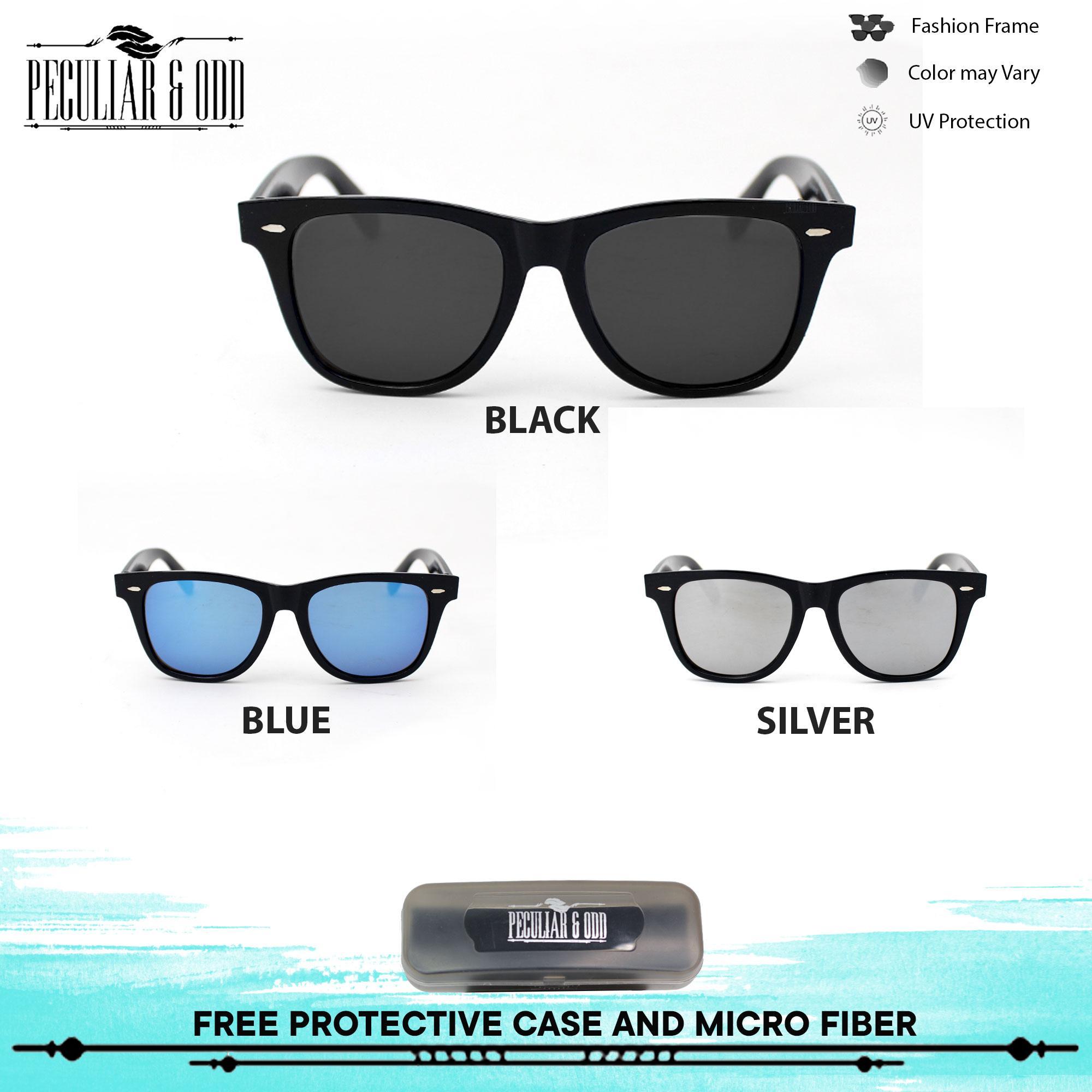 9233cc72aa Peculiar Wayfarer Oversized 1125 Classic Sunglass Eyewear in Acetate Frame