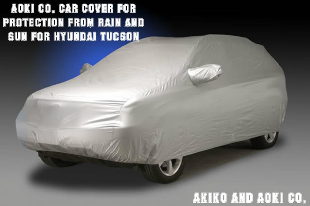Hyundai Tucson Premium Full Car Cover UV Protection Waterproof Breathable Automotive