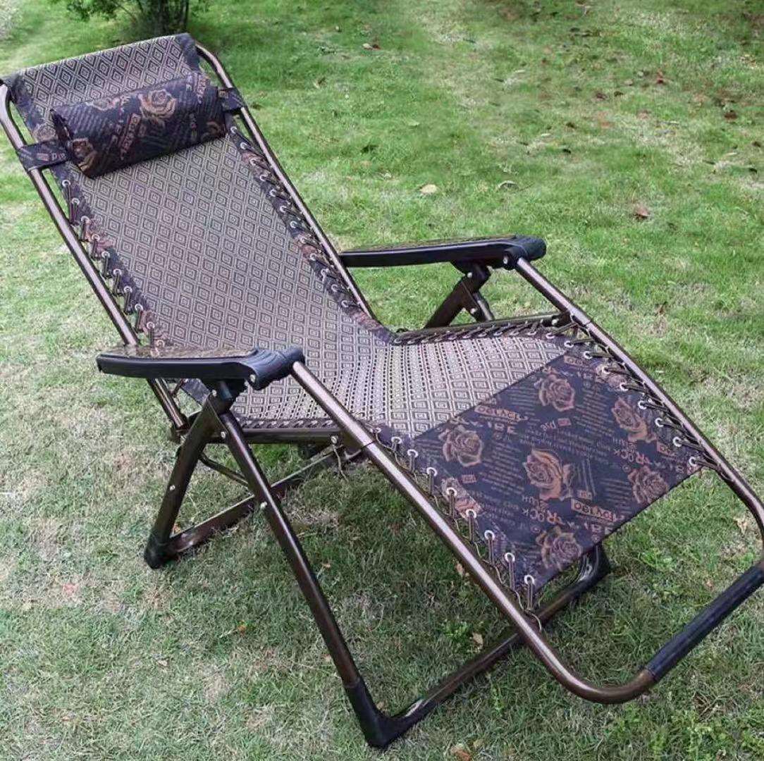 Foldable Zero Gravity Lounge Reclining Chair Pool Patio Outdoor Lounge Chairs W/ Headrest By Phantasy.