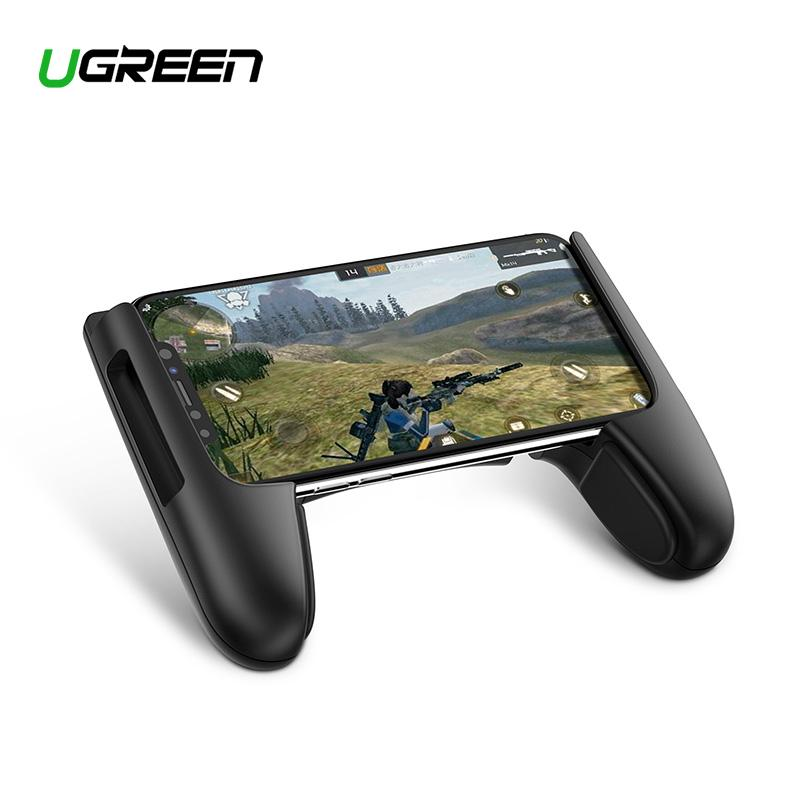 UGREEN Game Pad Standing Handphone Game Controller Gamepad Trigger Joystick for iPhone, Samsung, Xiaomi