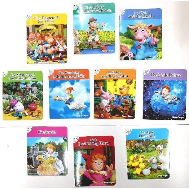 10 In 1 Classical Story Book Set 2 By Seasonaldeals