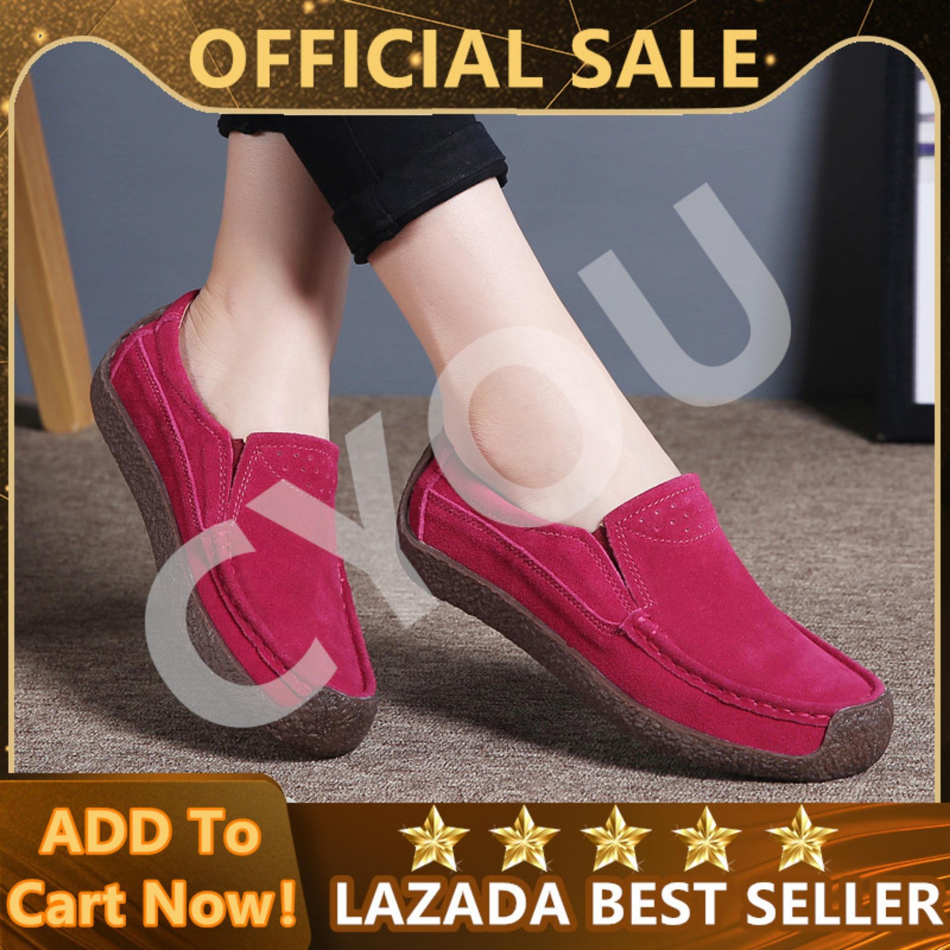 249c476963d CYOU Women Oxfords Shoes Ballerina Flats Shoes Women Genuine Leather Lace  Up boat Shoes Moccasins Loafers【FREE SHIPPING】