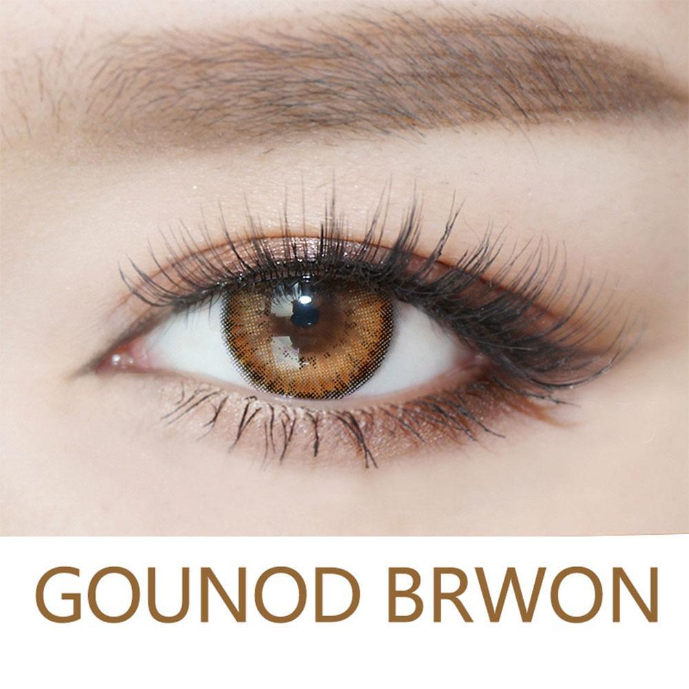Beautyfashionworld 1pcs Contact Lens Highlight Eye Makeup Enlarge Eyes Women Girls Lentilles de - intl Philippines