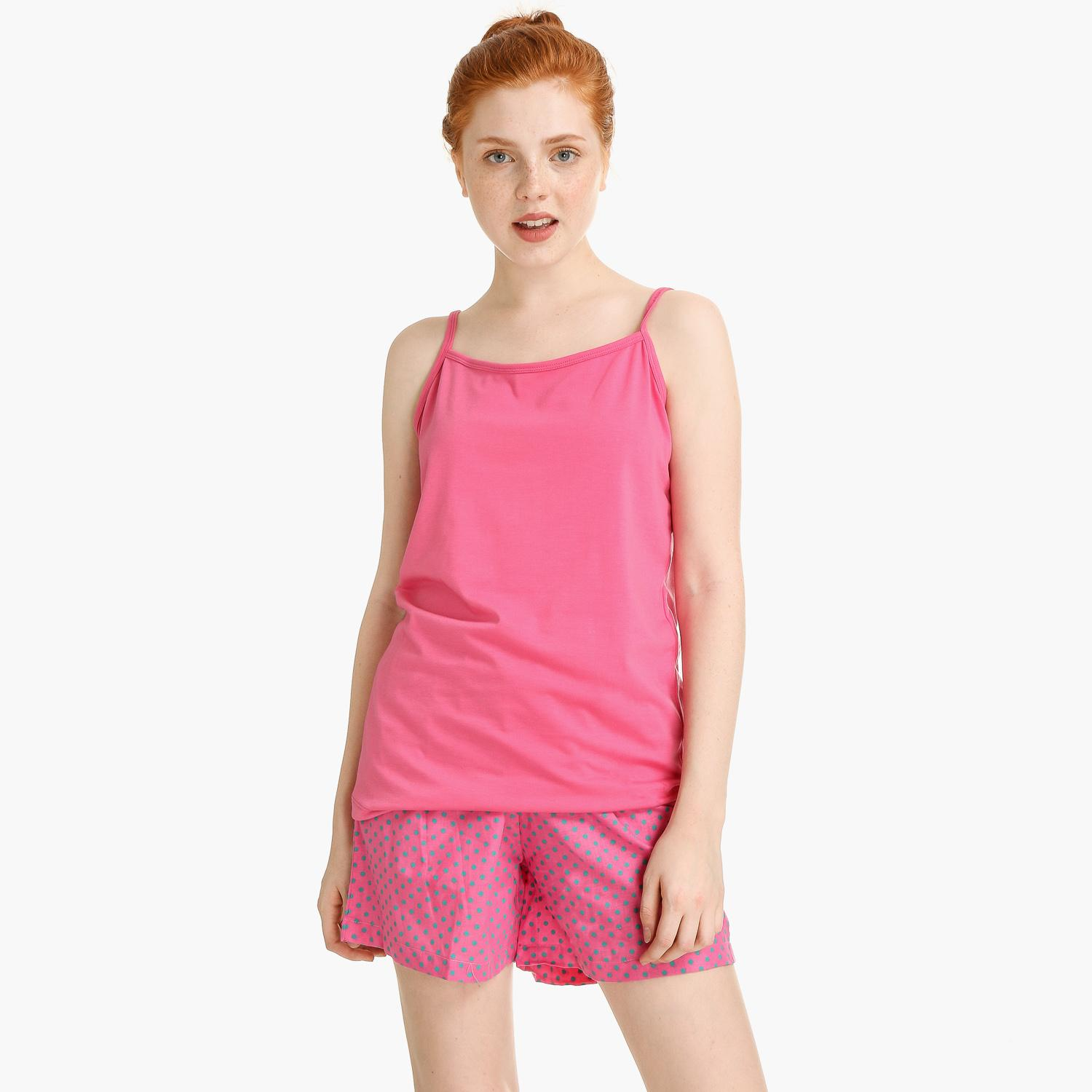 103de078c63 SM Woman Sleep Wear Free Size Polka Dot Top And Shorts Set (Pink)