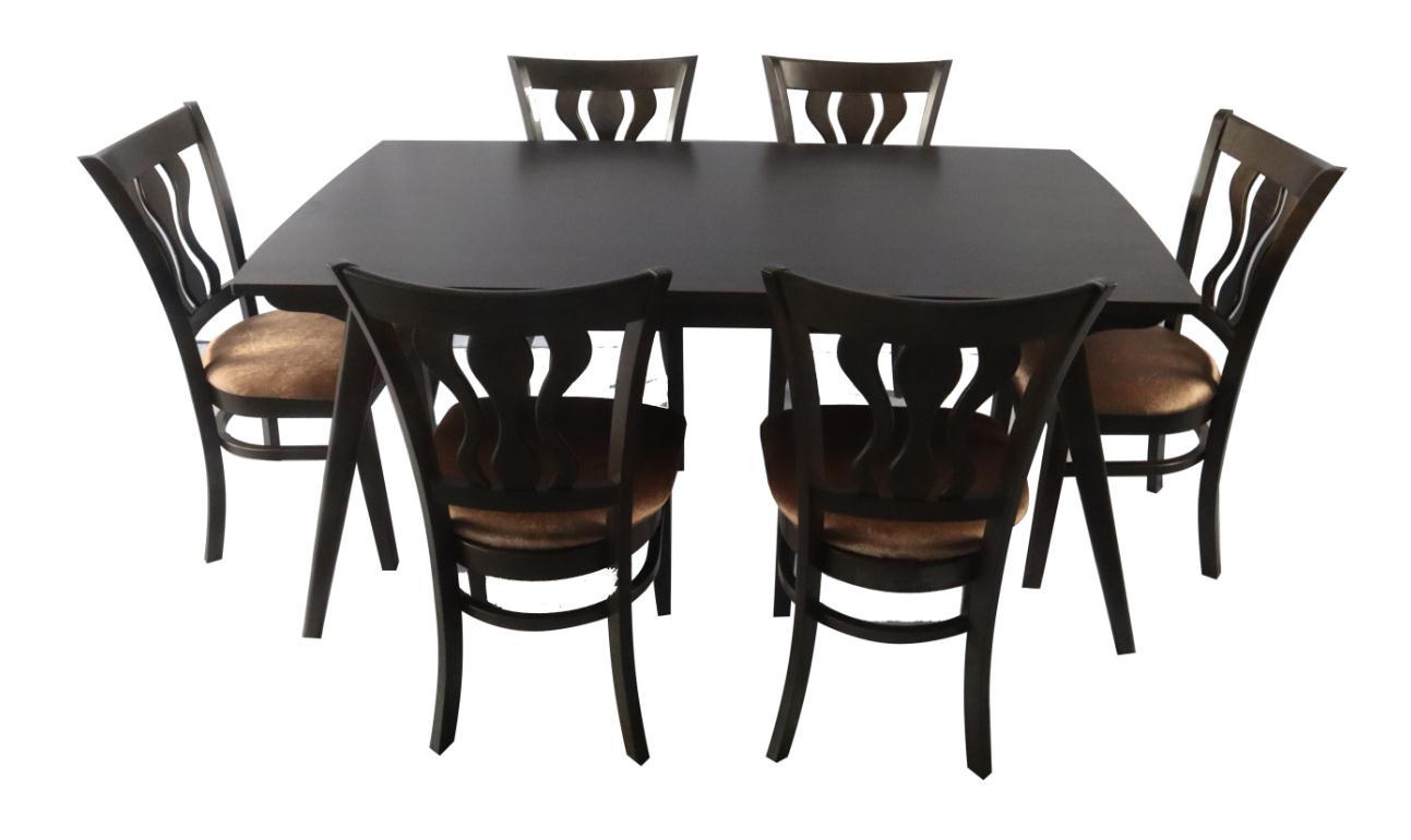 Glasgow Solid Wood Dining Set 6 Seater Lazada Ph
