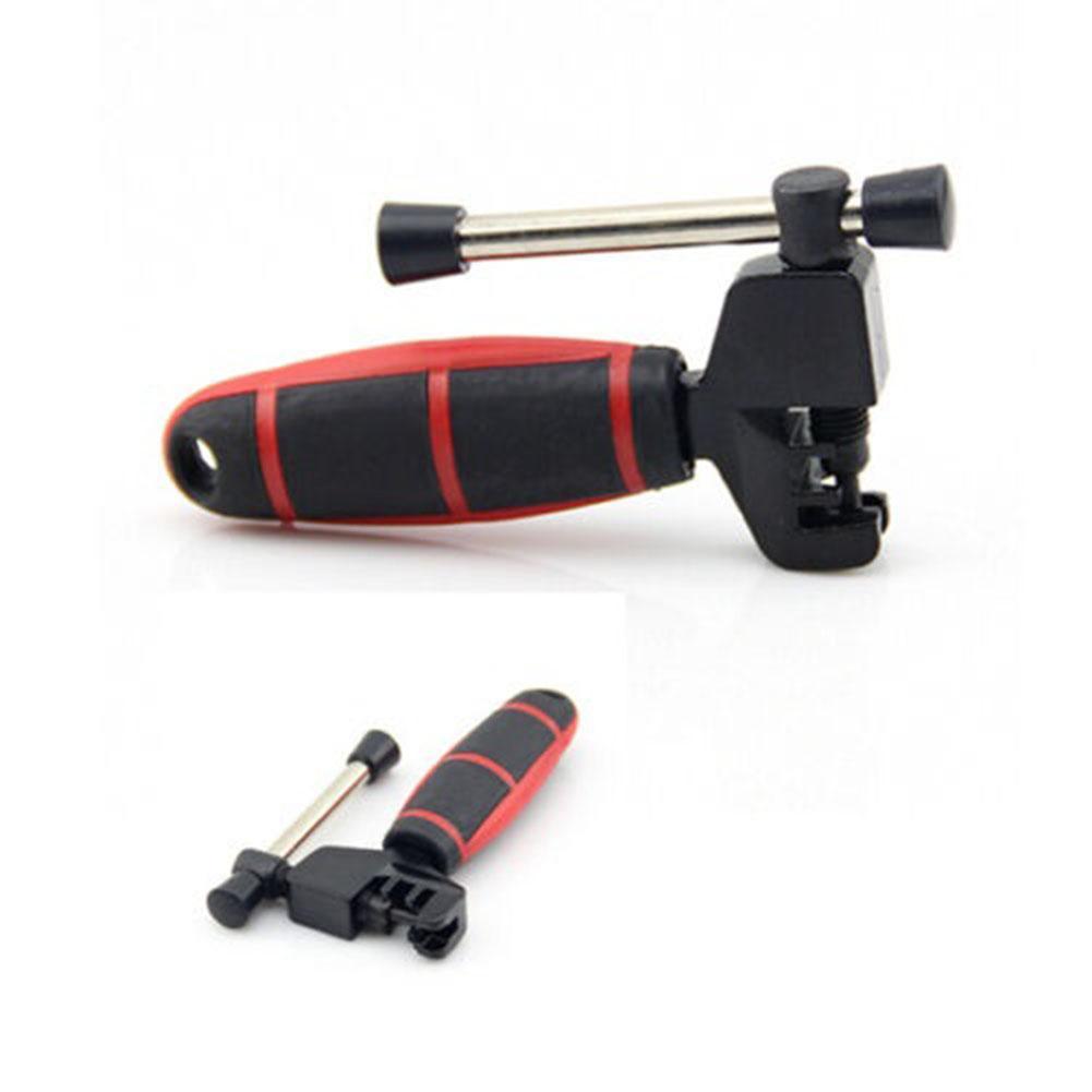 Big House Bike Chain Splitter Breaker Bicycle Cycling BMX Steel Removal Rivet Tool(Black+Red)