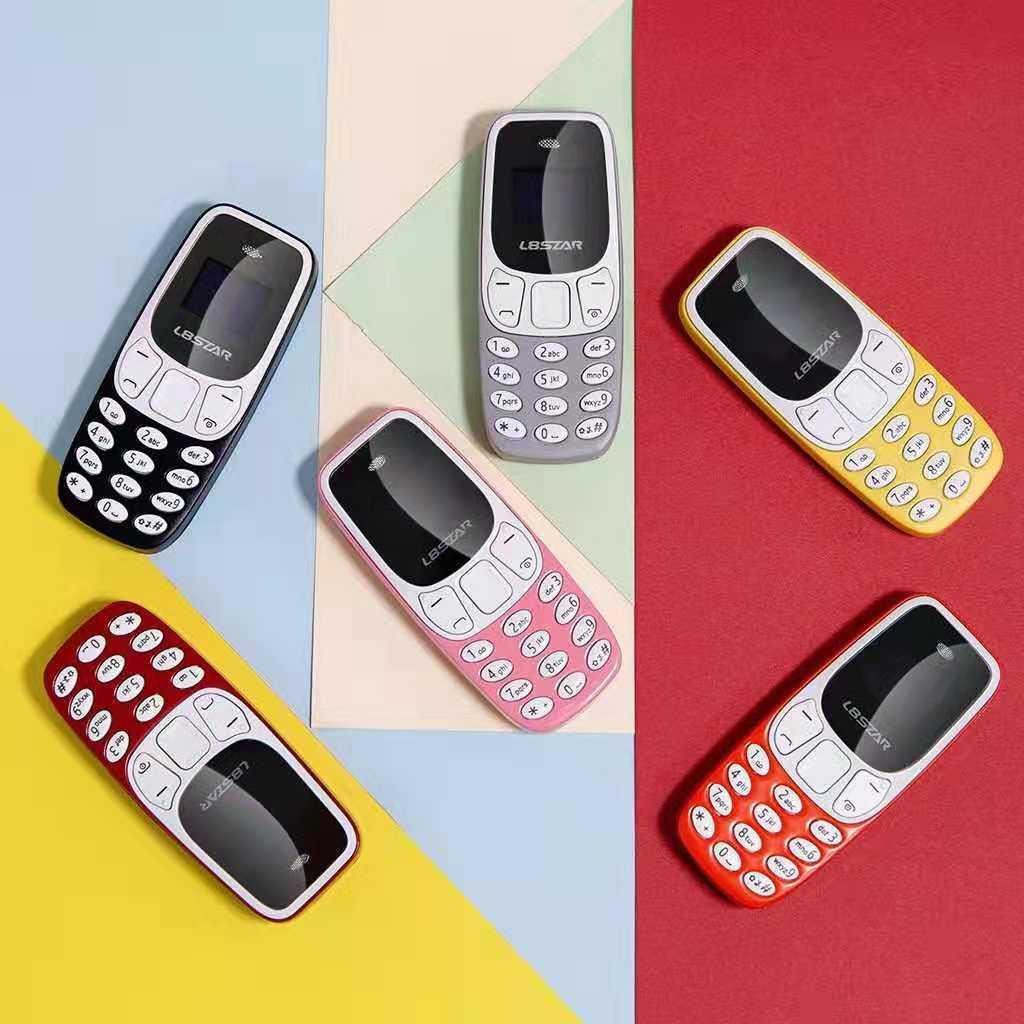 Mobile phone L8star BM10 Phone shape mini SIM card earphone wireless  Hands-free calling Answer the call