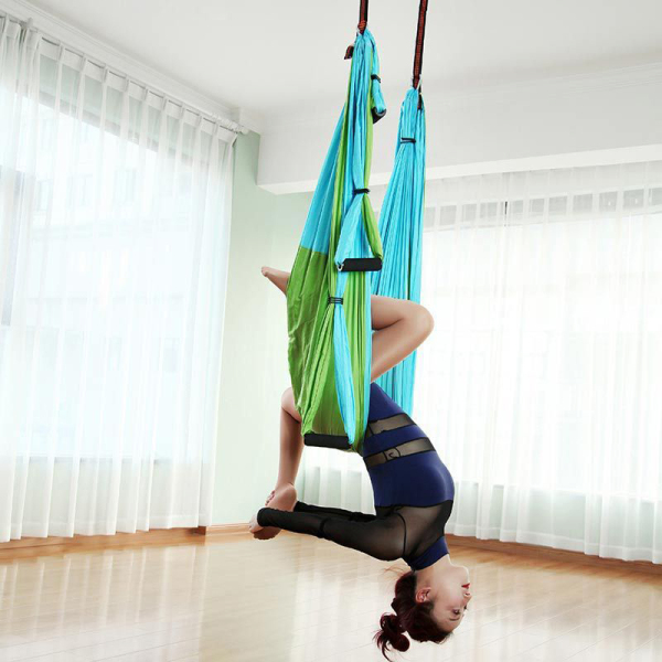 Yoga Swing Hammock Aerial Yoga Swing Set Anti-Gravity Ceiling Hanging Yoga Hammock Yoga Swing Inversion