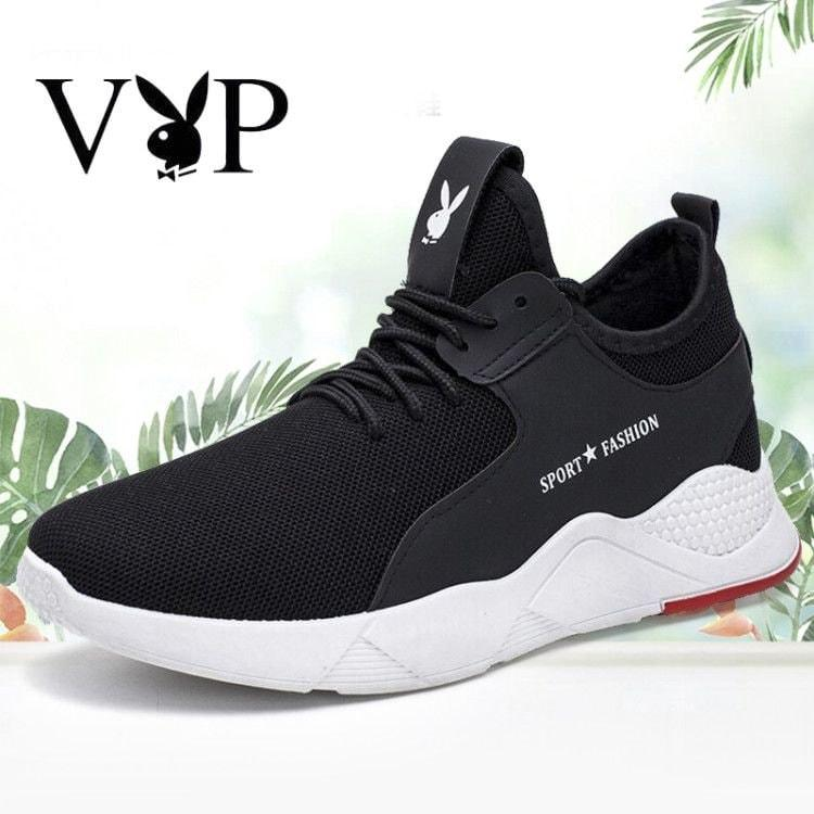 f540fabb6403 Korean Fashion 2018 Knit Running Shoes Men Free Outdoor Sport Shoes For Man Black  Athletic Laces