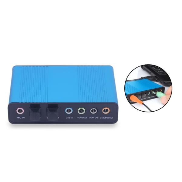 Bảng giá Firestone Audio Thẻ Âm Thanh Quang Ngoài PC Máy Tính Xách Tay Máy Tính Xách Tay USB Kênh 7.1 5.1 Trình Điều Khiển Âm Thanh Phụ Kiện Máy Tính Phát Lại Kỹ Thuật Số Hỗ Trợ 32KBz 44.1 KHz Phong Vũ