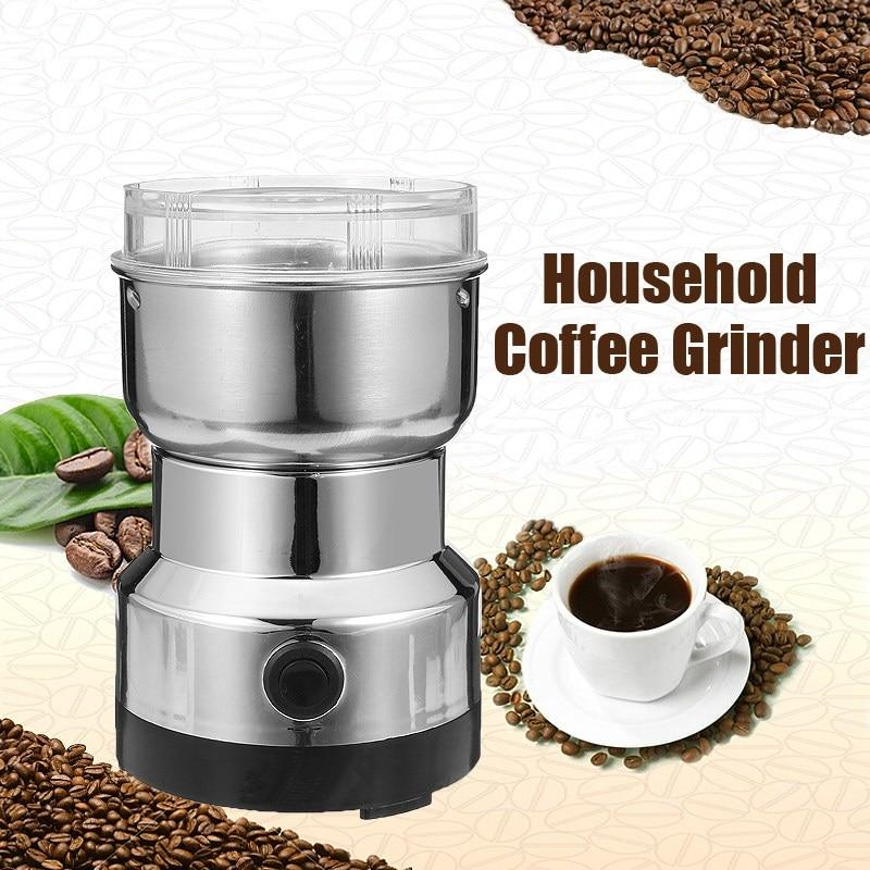 Electric Stainless Steel Coffee Bean Grinder Home Grinding Milling Machine By Yisino Philippines.