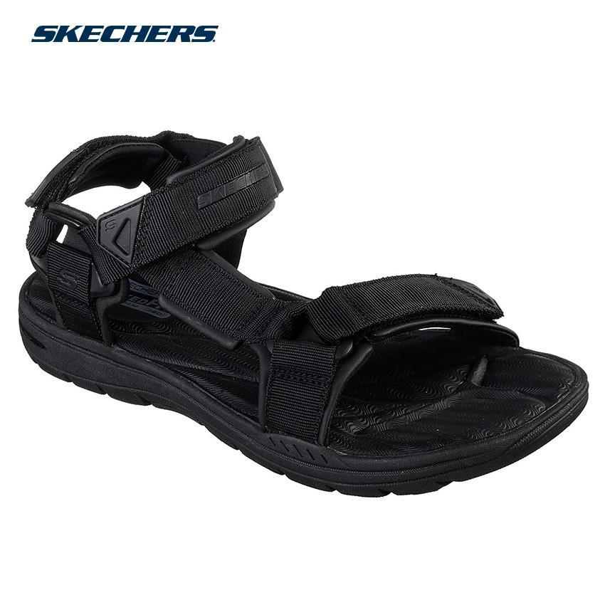 9911938ff Skechers Men Reggae - Randale Sandals-Athletic Footwear 65463-BBK (Black)