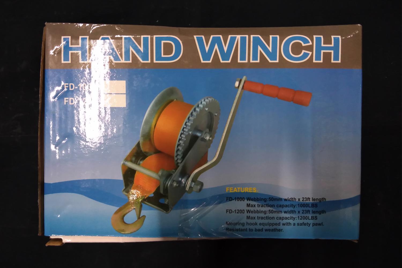John Benzen Hand Winch 1200lbs