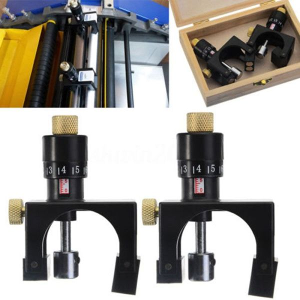 2X Adjustable Planer Blade Cutter Calibrator Setting Jig Gauge Woodworking Tool