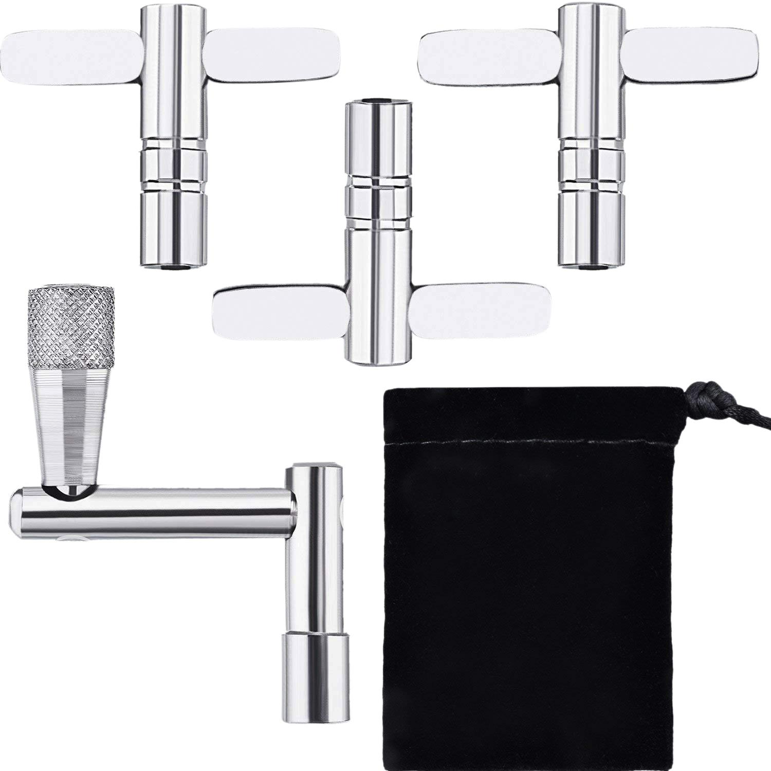 4 Pieces Drum Key Drum Tuning Key Tension Drum Key Percussion Hardware Tool By Starnet Store.