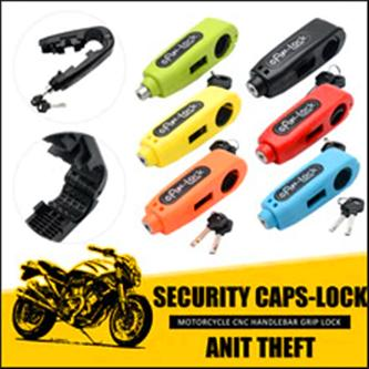 1pc Caps Lock Motorcycle Throttle Grip Universal Lock( Random Colors) By Vk Bedding.