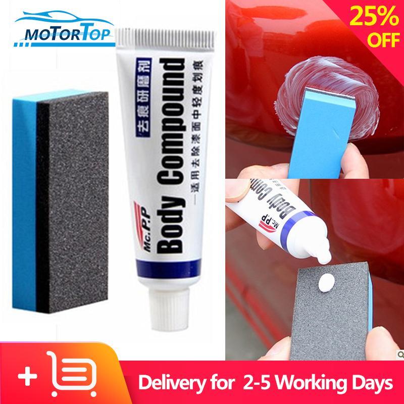 Mp Car Body Compound Paste Set Scratch De-Mark Abrasive Paint Care Auto Polishing Grinding Car Paste Polish Care By Motortop